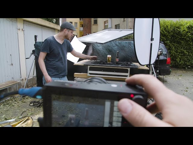 Slow motion product shoot behind the scenes - Chronos 2.1-HD