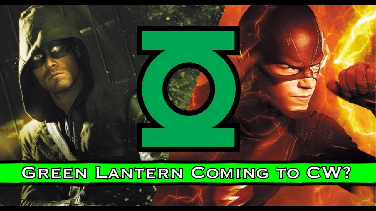 green lantern on cw easter eggs say yes