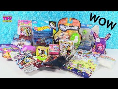 Toy Palooza MLP Tokidoki Disney Labbits Shopkins Blind Bag Opening Review | PSToyReviews