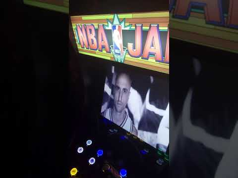 NBA JAM Arcade1up custom intro from Retro Arcade Corner