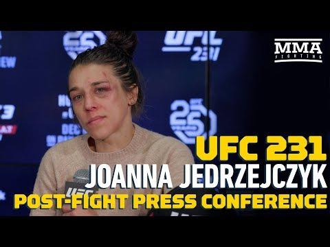 UFC 231: Joanna Jedrzejczyk Post-Fight Press Conference - MMA Fighting