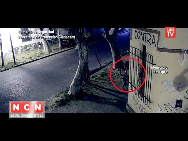 CINCO TV - El COT detuvo a tres ladrones por robar en Tigre centro