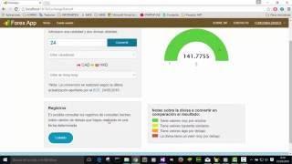 Forex App: La aplicación educativa de Mercado de divisas