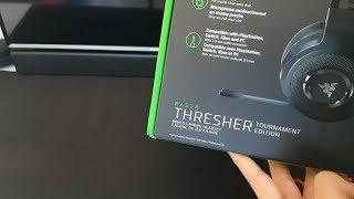 Unboxing Razer Thresher Tournament Edition PT-BR MIC TEST