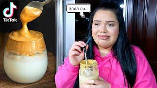 we tried the Viral TikTok Coffee..Dalgona Whipped Coffee