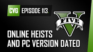 GTA V o'clock: Huge Analysis of new Heist screens. Plus Heists and PC version dated.