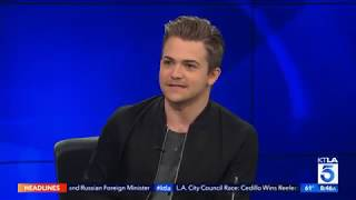 Hunter Hayes Does KTLA Weather and Says Next Album is a New Chapter in His Life