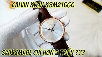 [Review đồng hồ] Calvin Klein High Noon K8M216G6