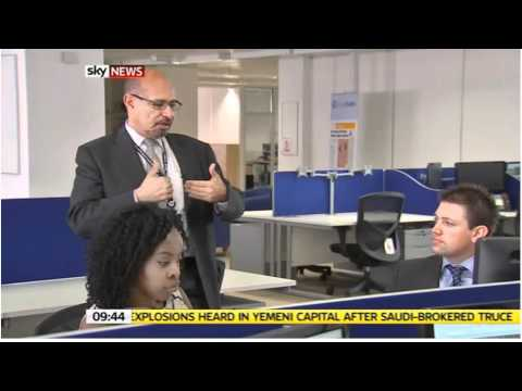 The Apprentice - Stock Market Traders - Training Live Sky News