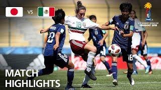 Japan v Mexico  - FIFA U-17 Women's World Cup 2018™ - Group B