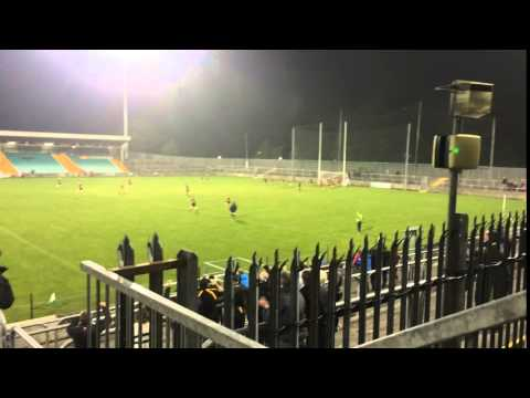 Naomh Ultan's Cian Kennedy fires over injury time 45 to win Donegal JFC replay