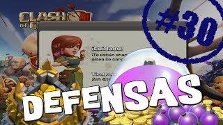 Defendiendo mis recursos | Empezando Clash of Clans con Android #30 [Español]