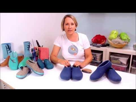 [Filzkurs] Hausschuhe selber filzen – Online-Videokurs von Sophia Wagner