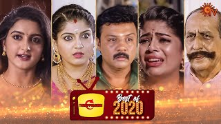 Best Turning points of our favourite serials | Best of 2020 | Sun Tv