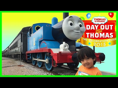 Thomas and Friends DAY OUT WITH THOMAS Train ride for kids