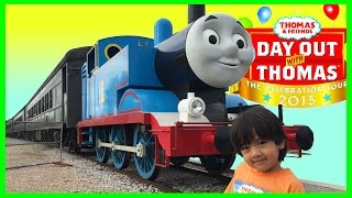 Thomas And Friends Day Out With Thomas 2015 Train Ride For Kids Sir Topham Hatt Ryan Toysreview