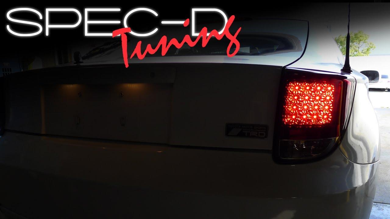 Specdtuning Installation Video 2000 2005 Toyota Celica