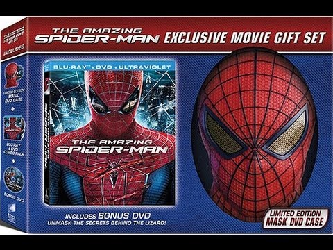 The Amazing Spider-Man Walmart Exclusive Mask Set Blu-Ray Unboxing  sc 1 st  YouTube & The Amazing Spider-Man Walmart Exclusive Mask Set Blu-Ray Unboxing ...