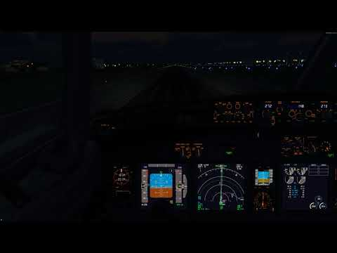 [P3Dv4.2][IVAO] VDME 27 DAAG in bouncy weather