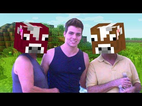 Criei meu Pai e minha MÃE no Minecraft pra fazer graça.................
