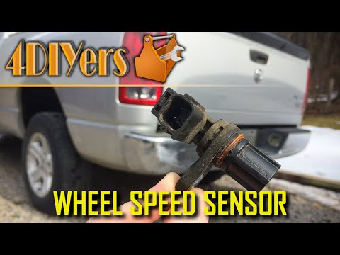 DIY: Dodge Ram 1500 Rear Wheel Speed Sensor Testing and Replacement