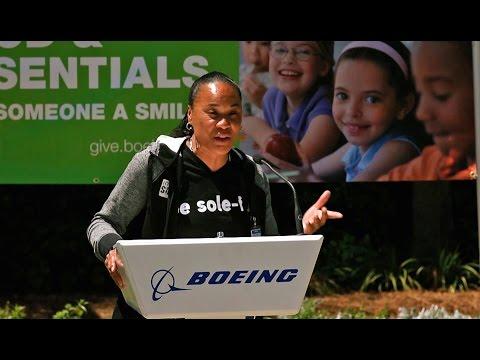 Boeing South Carolina Food & Essentials Drive kickoff event - April 27