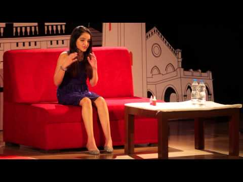 Being happy and living at the moment: Aisha Chaudhari at TEDxPune