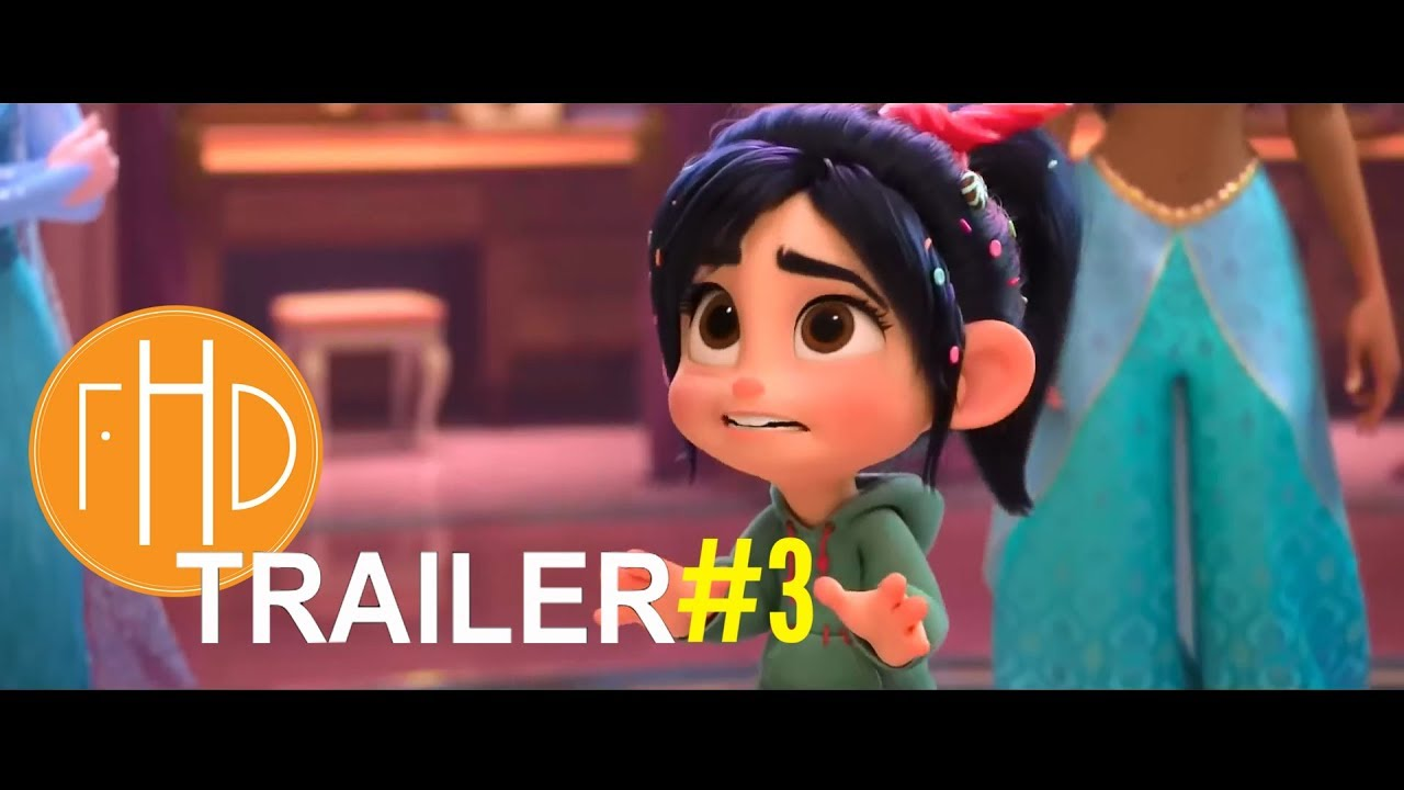 WRECK IT RALPH 2 | Official Trailer #3 (2018) | Ralph ...Wreck It Ralph Trailer 3