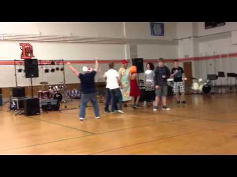 Delano middle school talent show dance off