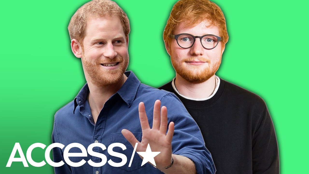 Prince Harry Teases Project With Fellow Redhead Ed Sheeran: 'It's Like Looking In The Mirror'