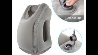 HolaHome inflatable travel pillow
