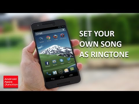 How to set a song as ringtone in android | custom ringtone