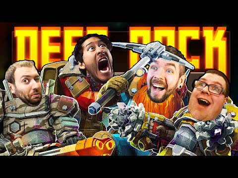 SMACK EM AND GO DEEP   Deep Rock Galactic w/ Mark, Bob and Wade