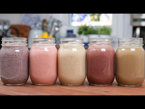 5 Incredible Dessert Smoothies