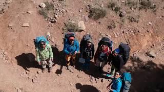 sommet oukaimden 3200 m et foret tachedirt  imlil ||   الصعود لقمة اوكايمدن وغابة تاشديرت  ايمليل