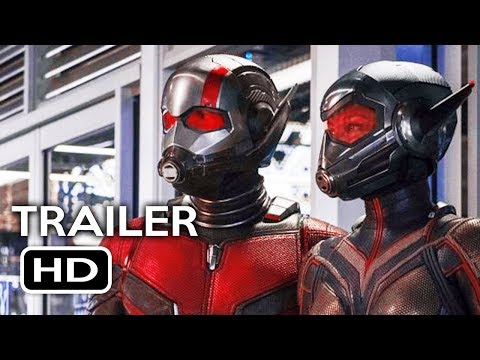 Ant-Man and the Wasp Official Trailer #1 (2018) Marvel Superhero Movie HD