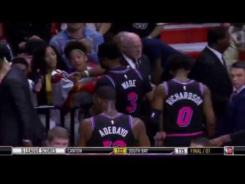 January 12, 2019 - NBATV - Game 41 Miami Heat Vs Memphis Grizzlies - Win (21-20)