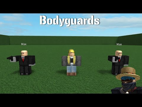 ROBLOX SCRIPT SHOWCASE: Bodyguards