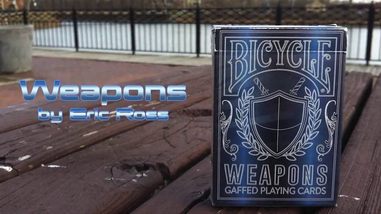 Bicycle Weapons - ERIC ROSS - GAFF DECK - ARTECO PRODUCTION - YouTube