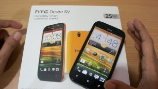 HTC Desire SV dual-sim android full review