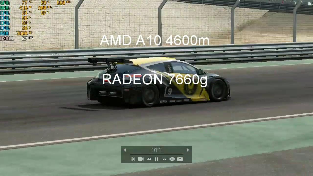 Amd A10 4600m Драйвера - YouTube