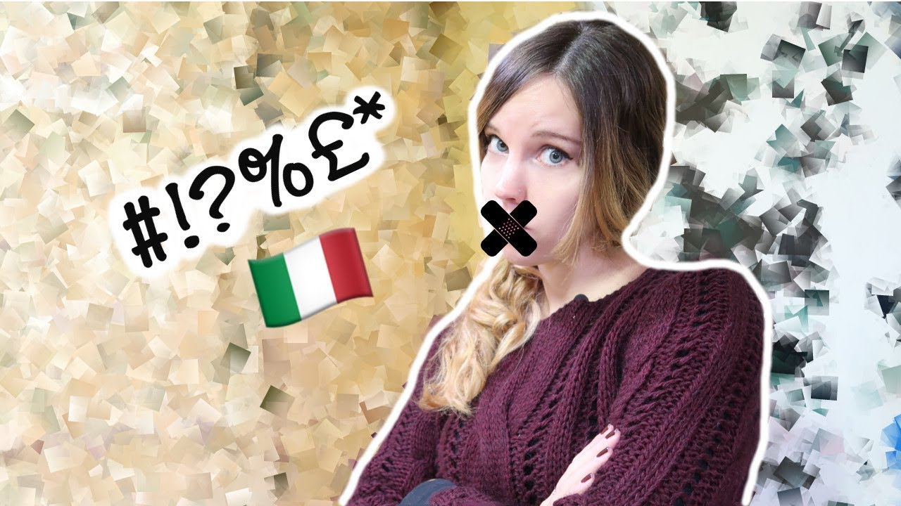 Bad Words in Italian || Parolacce - YouTube