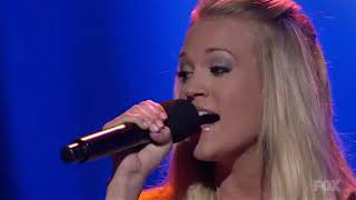 Carrie Underwood - Wasted (American Idol)