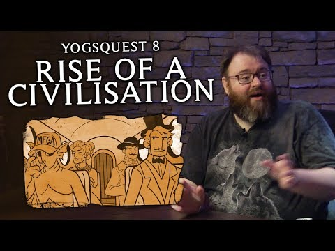 YogsQuest 8 - Rise of a Civilisation #3 | Murder on the Trans-Continent Express