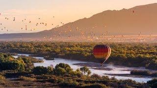Albuquerque International Balloon Fiesta 2017 - 4K Timelapse