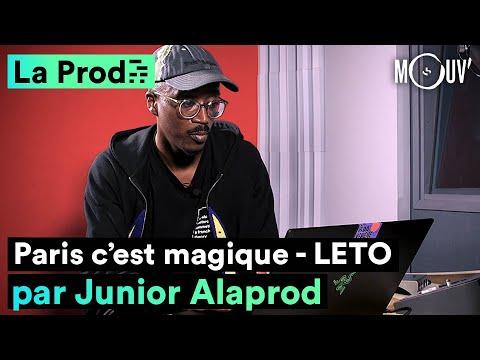 """Youtube: LETO – """"PARIS C'EST MAGIQUE"""": comment Junior Alaprod a composé le hit"""