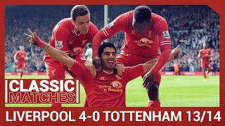 Premier League Classic: Liverpool 4-0 Tottenham | Reds run riot against Spurs