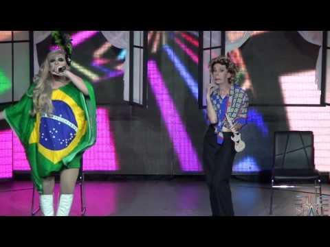 Blue Space Oficial - Valenttini Drag e Stefany Di Bourbon - 31/05/2014