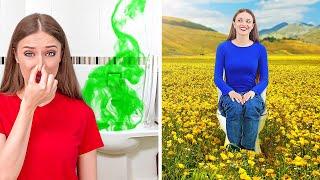 ÇILGIN TUVALET KAĞIDI TÜYOLARI || 123 GO!'dan Tuvalet Kağıdıyla Kolay Kendin Yap Fikirleri