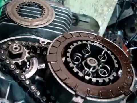 Двигатель ММВЗ (Минск 12V) окончание сборки,хитрости по сцеплению.
